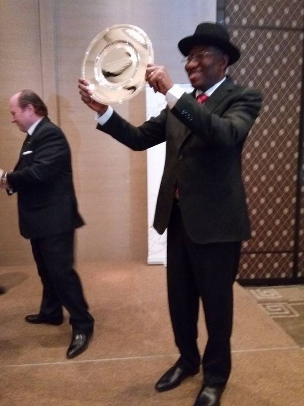 Jonathan jets out to South Korea to attend peace summit