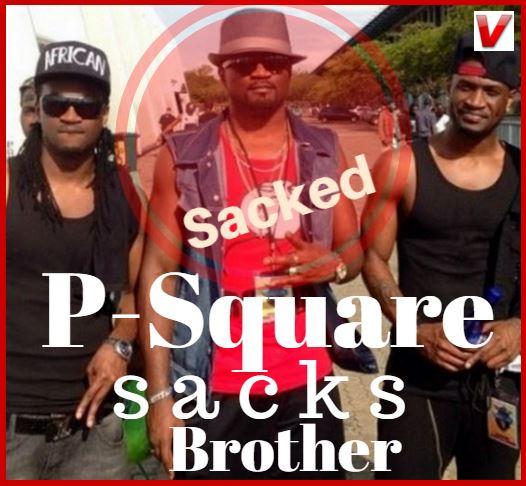 P'Square sacks elder brother