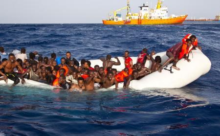 300 migrants storm heavily fortified border between Morocco, Spain