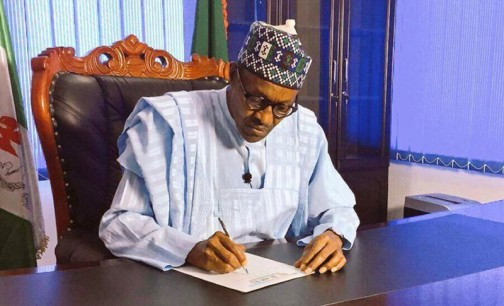 Buhari signs Compulsory Treatment for Victims of Gunshot bill, five others into laws