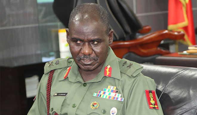 Nigerian Army redeploys 399 Generals