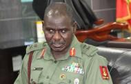 Nigeria Army: seven major generals, 45 brigadier generals, 597 officers redployed