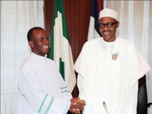 Stay away from partisan politics, Buhari advises religious leaders