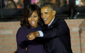 'Michelle will never run for office': President Obama