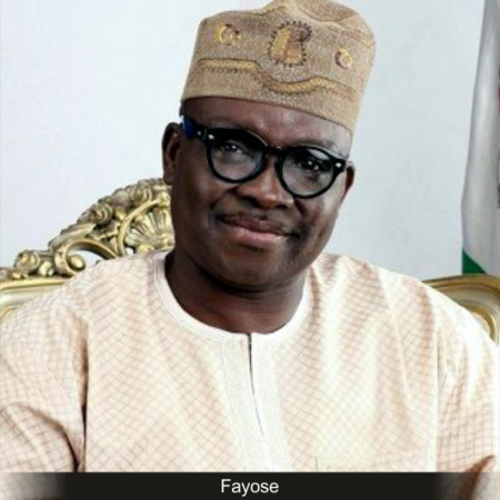 Fayose writes EFCC again, asks agency to interview him in his office on Sept 20