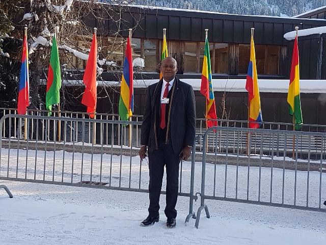 UBA managing director leads senior team to WEF at Davos, Switserland