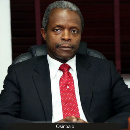 It's time we started talking about local vaccine production: Osinbajo