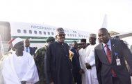 Buhari returns to Nigeria, thanks Nigerians for their prayers