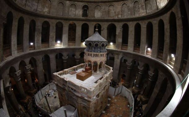 Discovery at 'Jesus's tomb' in Jerusalem