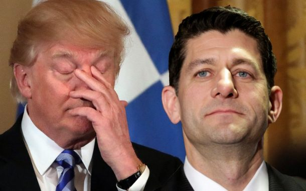 Trump pulls vote on Obamacare repeal as his first major legislative effort came tumbling down