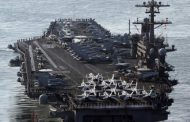 China, Russia send ships to chase U.S. aircraft carrier