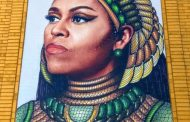 Artist creates  mural of Michelle Obama and nobody's happy