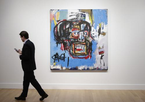 1982  painting 'Untitled' sold at world record $110.5m