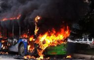 36 passengers burnt beyond recognition as 2 buses collide on Lagos-Ibadan highway