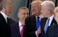 Trump shoves aside Montenegro leader at NATO meeting