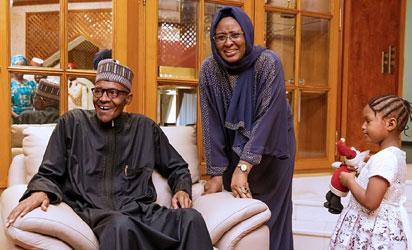 Fresh crisis in Buhari's home, Aisha battles Daura family