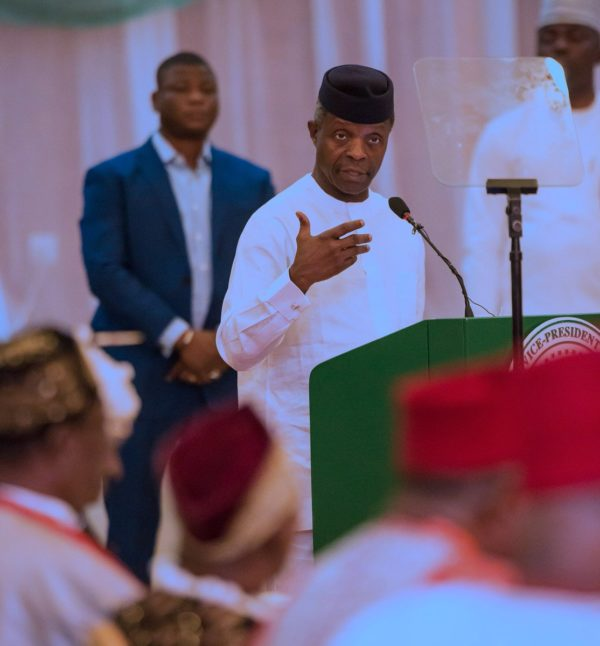 "Govt will use the ""full force of the law"" to stop the nation becoming divided: Osinbajo"