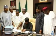 Osinbajo signs N7.44 trillion 2017 budget