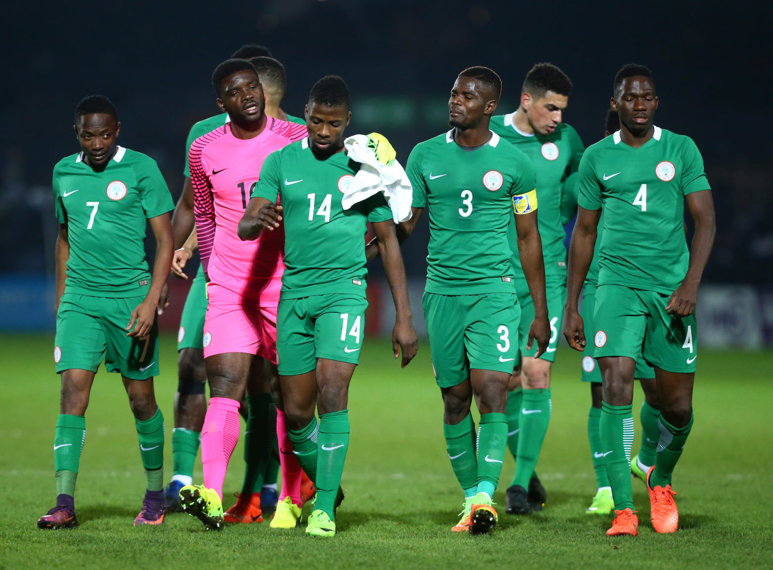 AFCON qualifier: South Africa's Bafana Bafana shock Super Eagles in Uyo