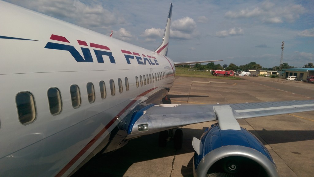 Air Peace plane overshoots the runway in Port Harcourt Airport