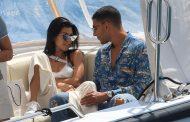 Kourtney Kardashian, 23-year-old model beau Younes Bendjima hold hands during St. Tropez Trip