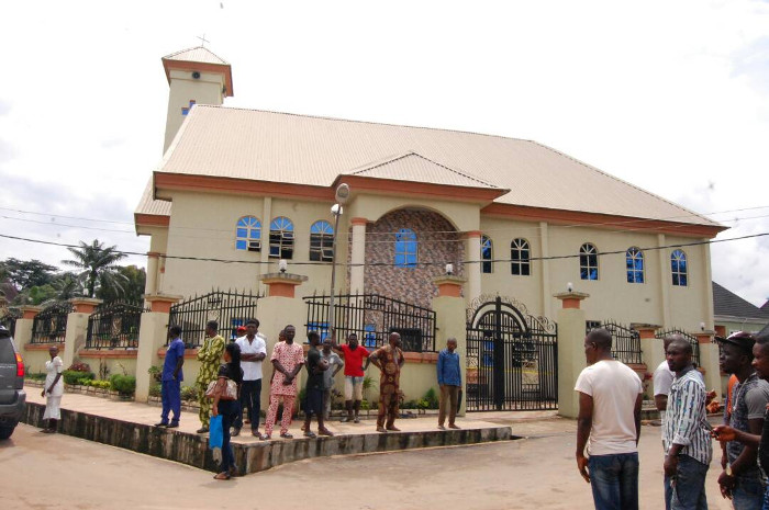 Ozubulu Church re-opens with alleged target of Aug. 6 attack in attendance