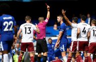 9-man Chelsea fall 2-3 to Burnley; Cahil, Fabregas see red
