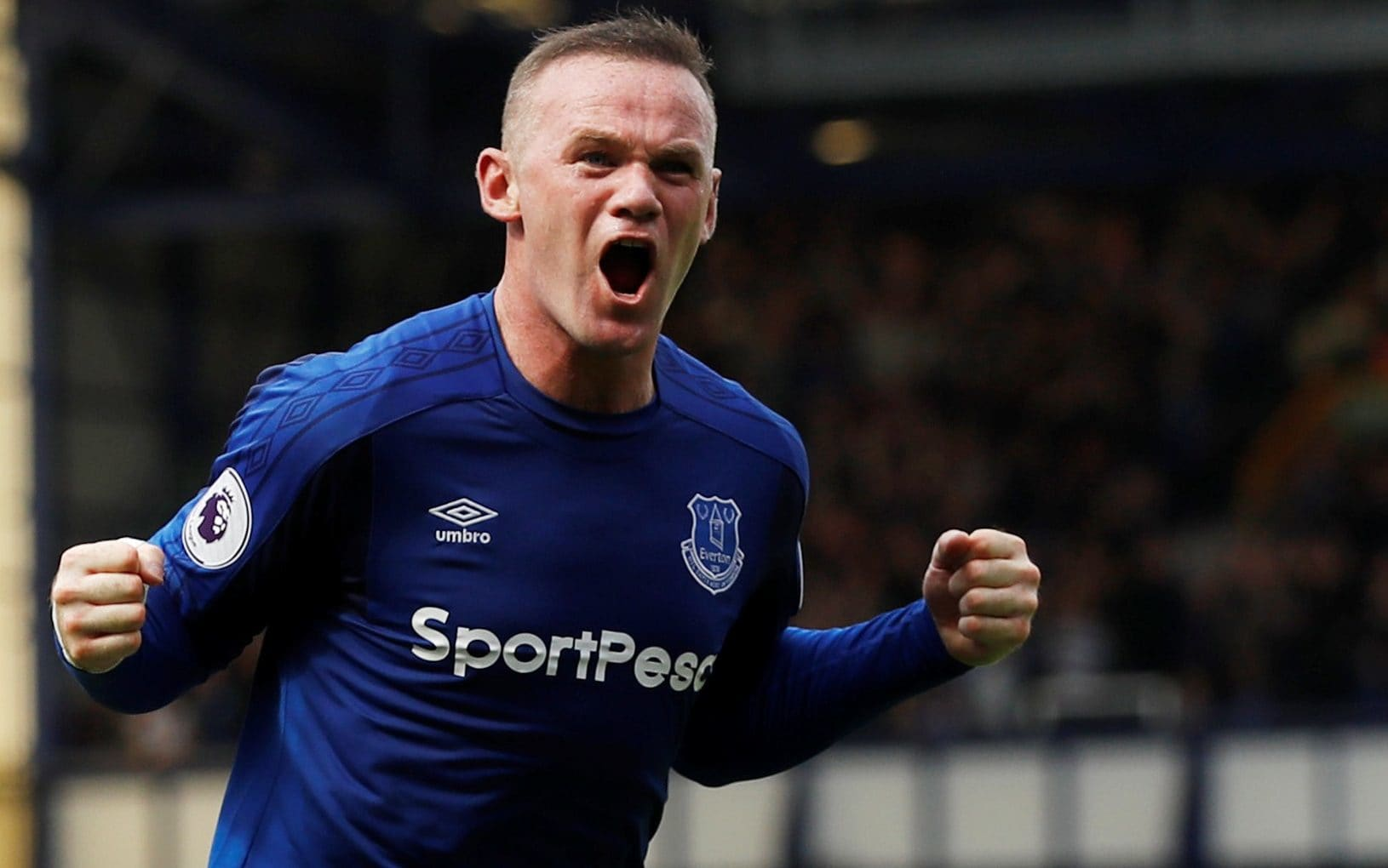 Everton 1- 0 Stoke : Wayne Rooney scores winner in his Everton return