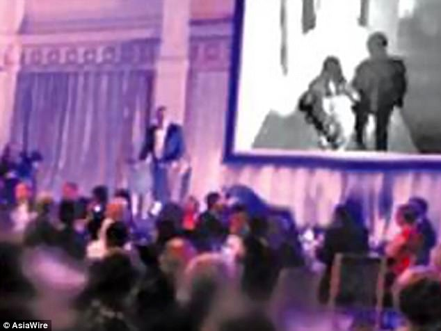 Shame! Groom plays video of bride's infidelity during their wedding