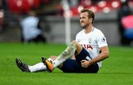 Injury blow for Tottenham as star man Harry Kane out of Man United clash