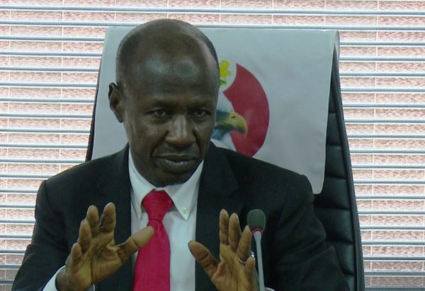 Magu detained, says 'I prefer sleeping in cell' after being quizzed