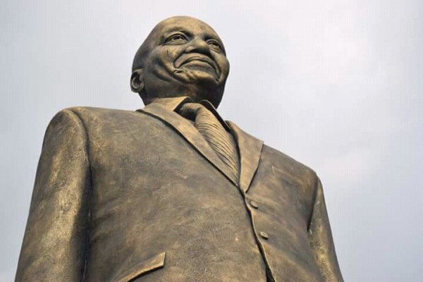 Okorocha and Jacob Zuma's statue