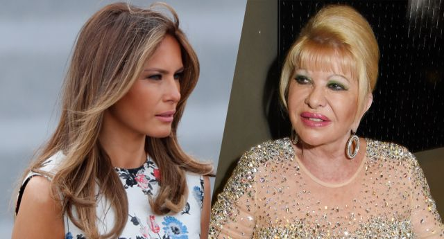 White House:  First Lady Melania and  Trump's first wife in war of words