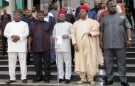President Buhari meets with Southeast leaders