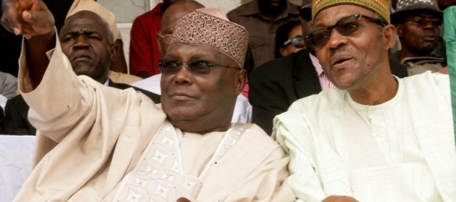 Buhari fires the first salvo against Atiku, questions his 'credibility'  and 'values'