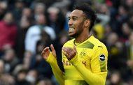 Chelsea tracking Dortmund's Aubameyang, hopes to keep Courtois