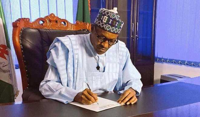 Buhari sign new executive order, to tighten tax, money laundering laws