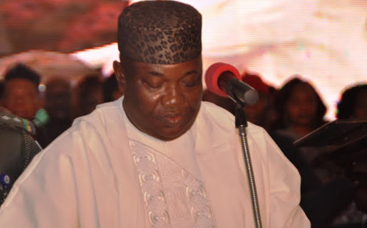 Ugwuanyi swears-in 17 LG Chairmen