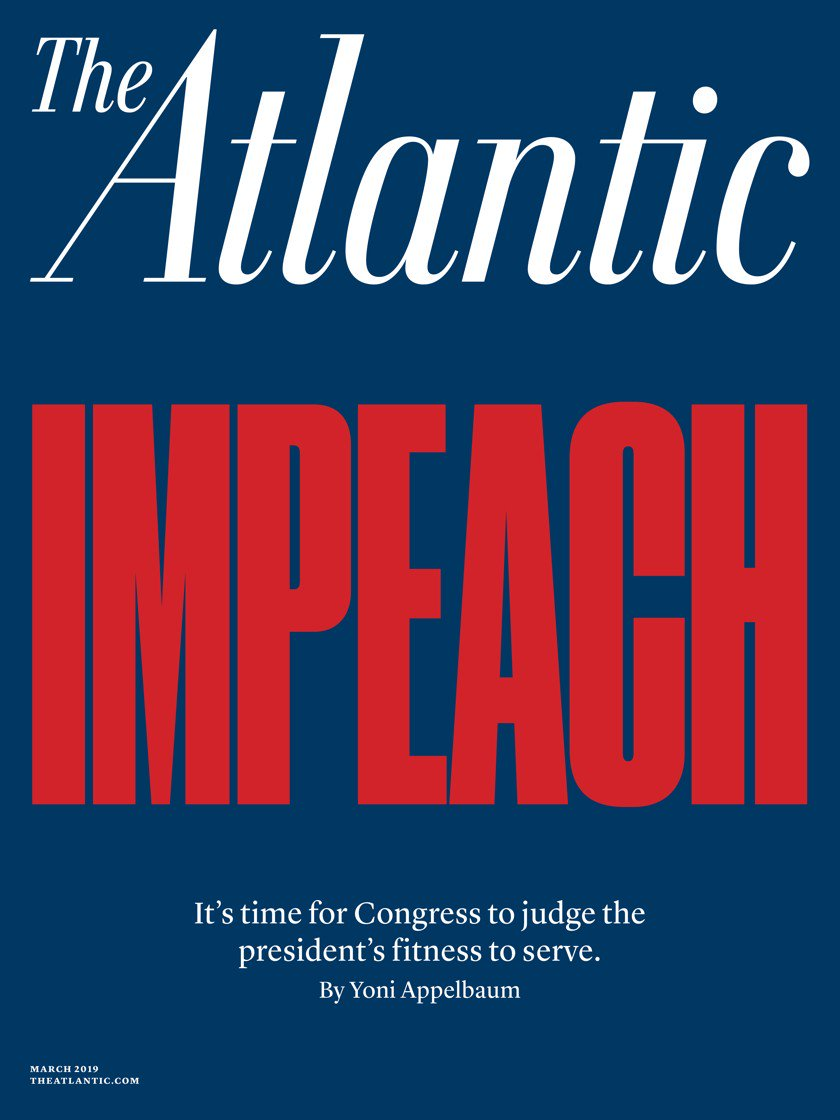 'Impeach Donald Trump': The Atlantic says it's time in blistering cover story