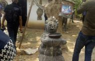 Police uncover shrine suspected to be used by criminals in Ekiti