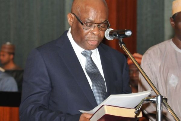 Buhari suspends CJN Onnoghen, appoints Tanko Muhammed to replace him