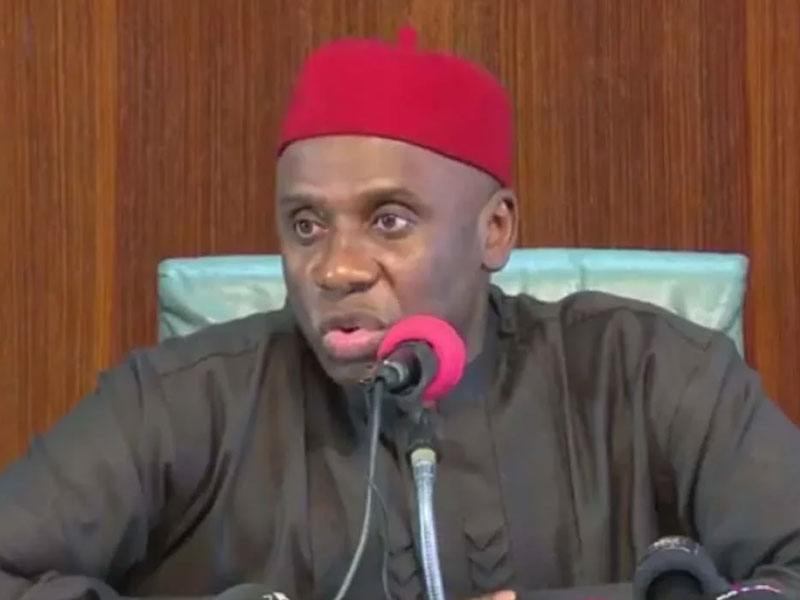 Amaechi orders contractor to deliver Lagos-Ibadan rail in two weeks