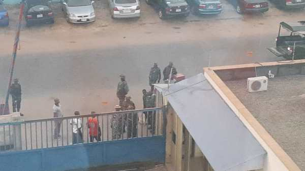 Armed soldiers invade Daily Trust offices in Abuja, Maidugiri and Lagos