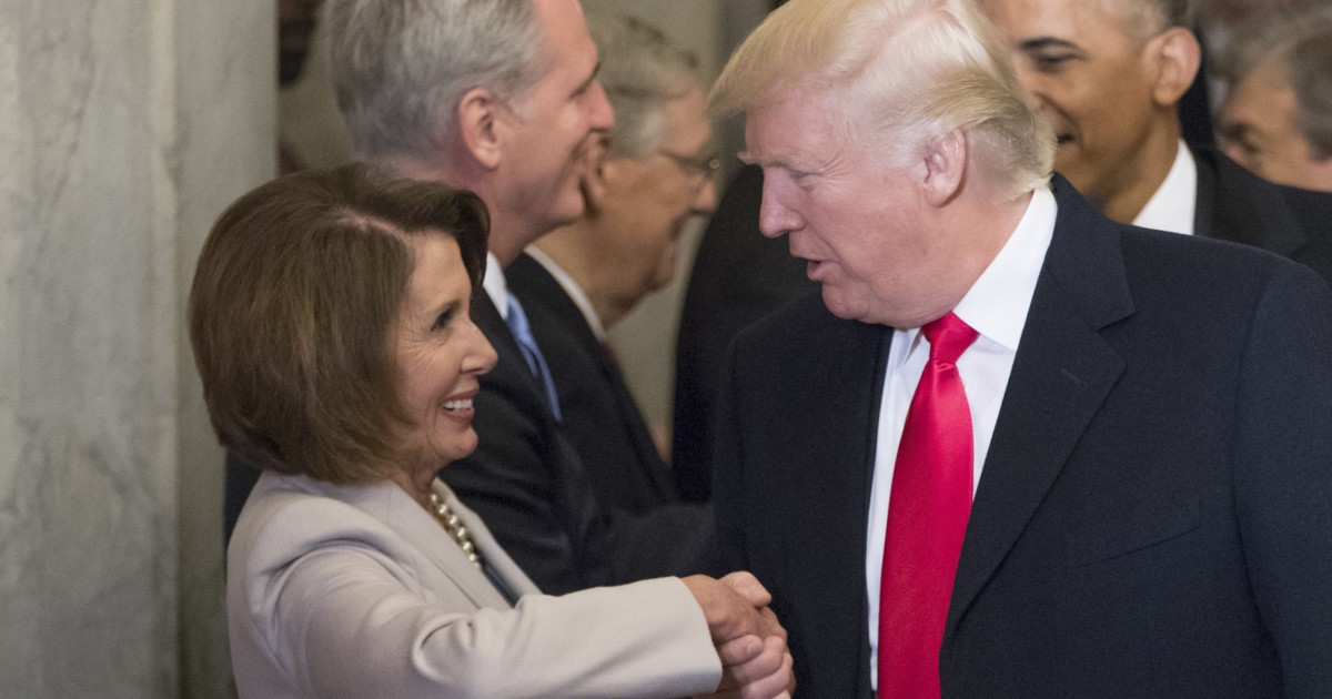 Trump fires back at Pelosi, cancels her foreign travel