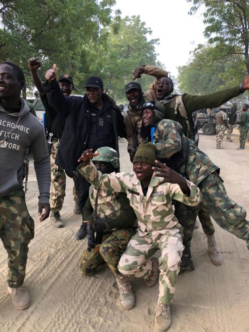 Nigerian troops clear Boko Haram terrorists in towns in northern Borno