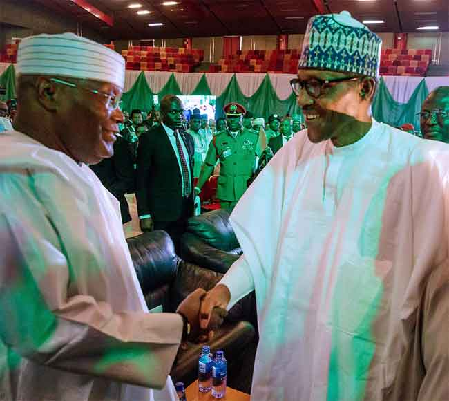 Buhari, Atiku, others  sign second peace accord