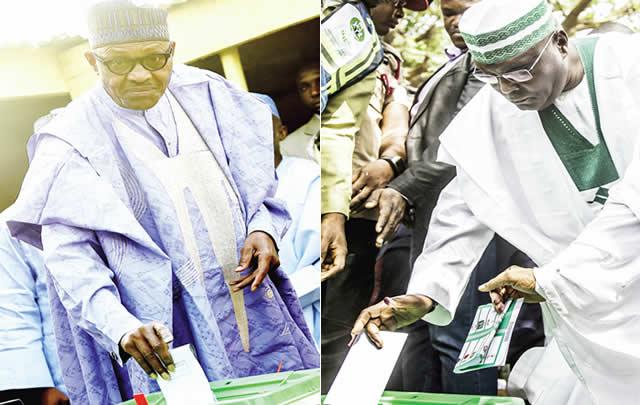 Atiku loses at home unit, Buhari loses at Presidential Villa