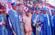 Buhari, Oshiomhole, top APC leaders stoned, booed in Ogun