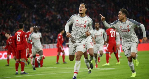 Liverpool slice through Bayern to book quarter-final spot