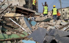 22 persons rescued from Lagos collapsed building